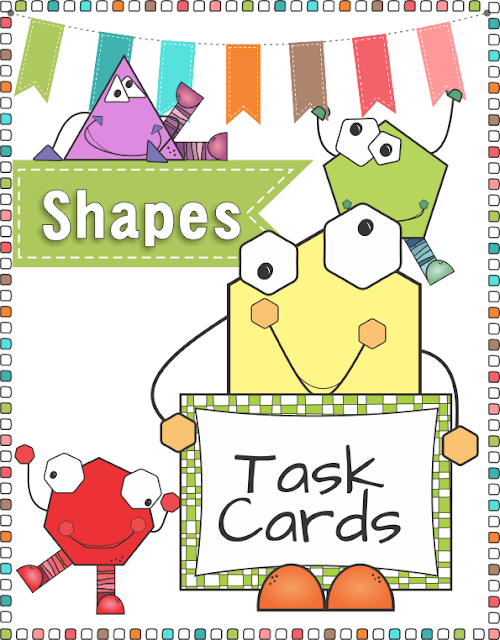 2 D Shapes Task Cards