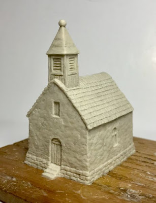 A little more sculpting work to finish but the new 10mm Chapel is available now to pre-order