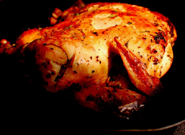 Beer Roasted Paprika Chicken