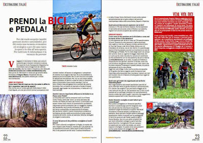 passaparola magazine Luxembourg cycling italy veloce bike rental