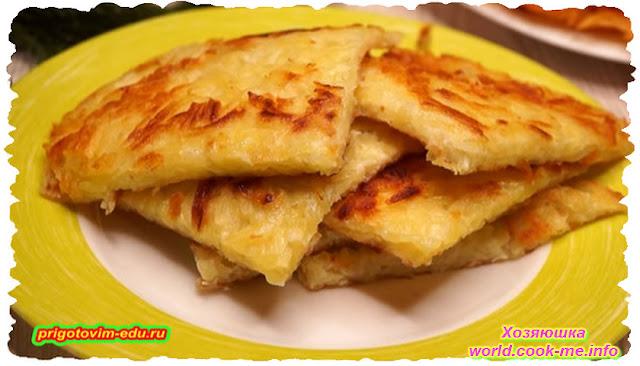 Рецепт блинчиков из картошки с яйцами