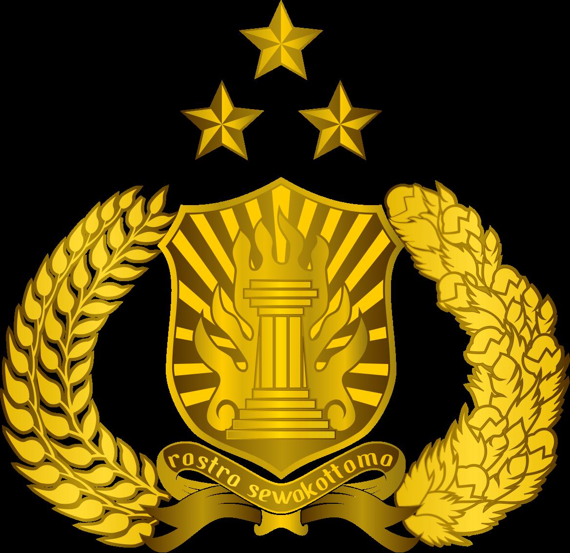 Lambang Tribrata Polri Polisi Republik Indonesia