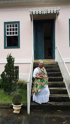 Andreia Pit, guia em Vassouras.