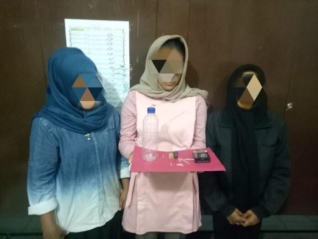 Tiga Wanita Diciduk Polisi Saat Pesta Sabu di Banda Aceh