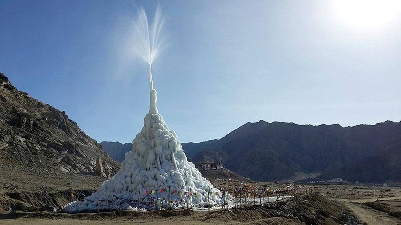 Las Estupas de Hielo del Himalaya | India
