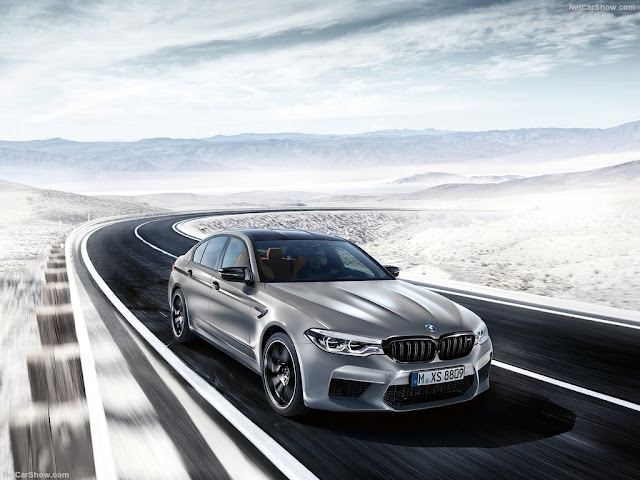 BMW M5 Competition specs
