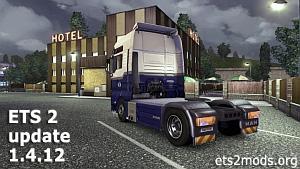 Euro Truck Simulator 2 update v1.4.12