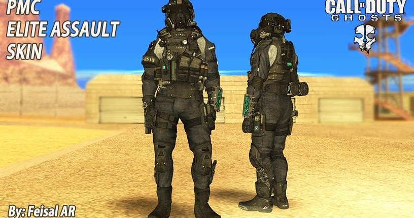 Pmc Elite Assault Cod Ghosts Gta San Andreas Feisal Ar Mods