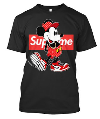 Mickey Mouse Supreme T Shirt Hoodie Sweatshirt Tank Top Phone case. GET IT HERE
