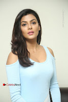 Anisha Ambrose Latest Pos Skirt at Fashion Designer Son of Ladies Tailor Movie Interview .COM 0649.JPG