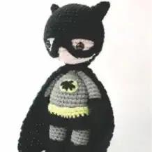 Amigurumi Batman a Crochet