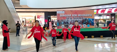 Tari Pasar Tanjung Garapan Sanggar Tari Megawati Unjuk Kebolehan di Pentas Seni New Normal