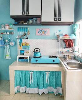 dapur kecil dan rapi