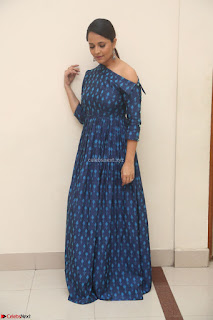 Anchor Anasuya in a Blue Gown at Jai Lava Kusa Trailer Launch ~  Exclusive Celebrities Galleries 008.JPG