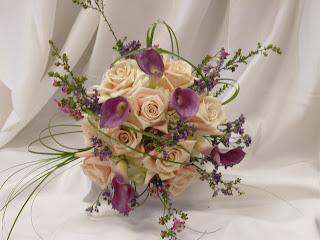 wedding flower packages roses and mini callas