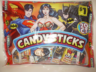 Front of DC Trinity Candysticks bag