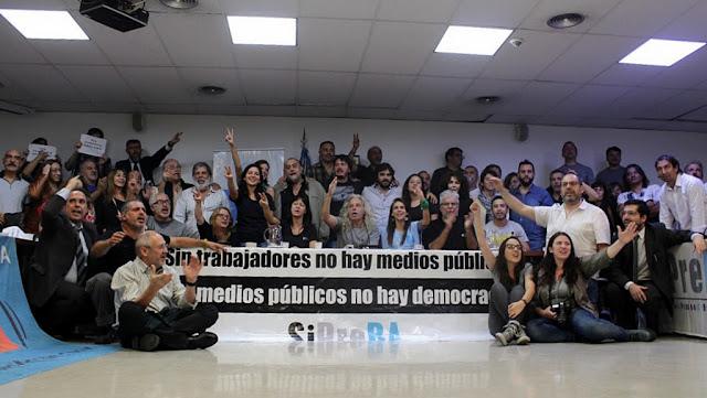 Un amplio frente político se alzó en defensa de los medios públicos y reclamó la interpelación de Hernán Lombardi en el Congreso