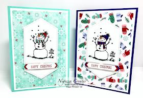 Nigezza Creates with Stampin' Up! Snowman Season