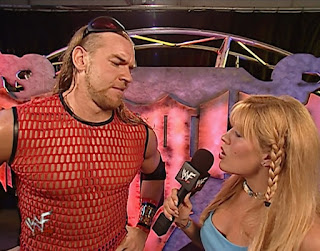 WWE / WWF Unforgiven 2001 - Lilian Garcia interviews Christian about his match with Edge