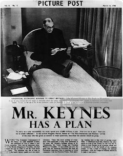 Keynes y las políticas expansivas