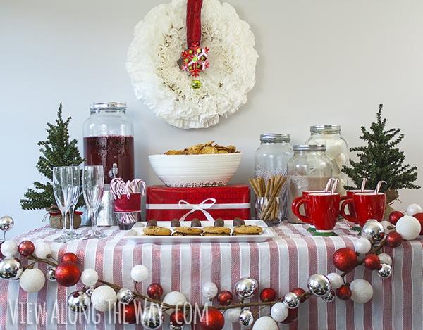 decorar festa natal