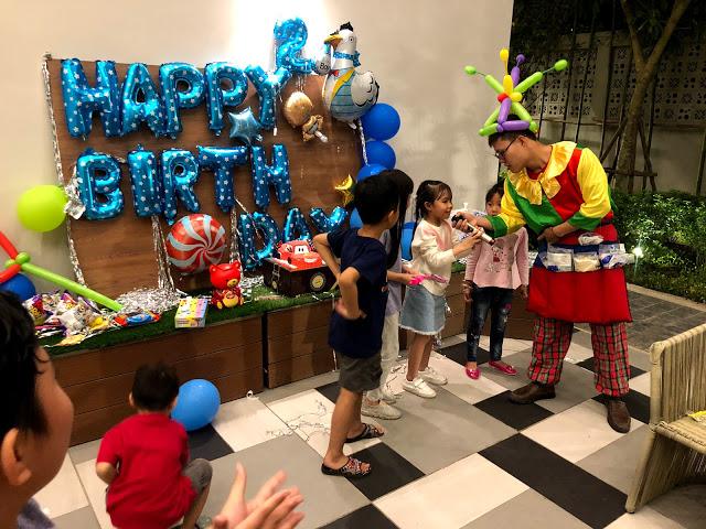 Dịch vụ cho thuê chú hề hoạt náo thổi bóng sinh nhật tại Hà Nội