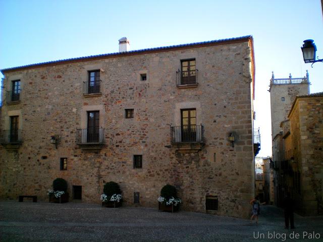 Casas señoriales en Cáceres