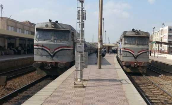 مواعيد القطار المكيف المنصورة دمياط القاهرة والعكس