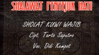Lirik Lagu Sholat Kuwi Wajib - Didi Kempot