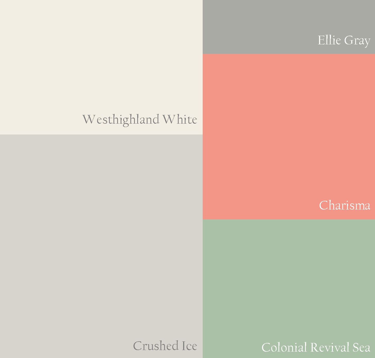 Gray Paint Color Schemes: Turned To Design: A Whimsical But Chic Nursery Color Palette