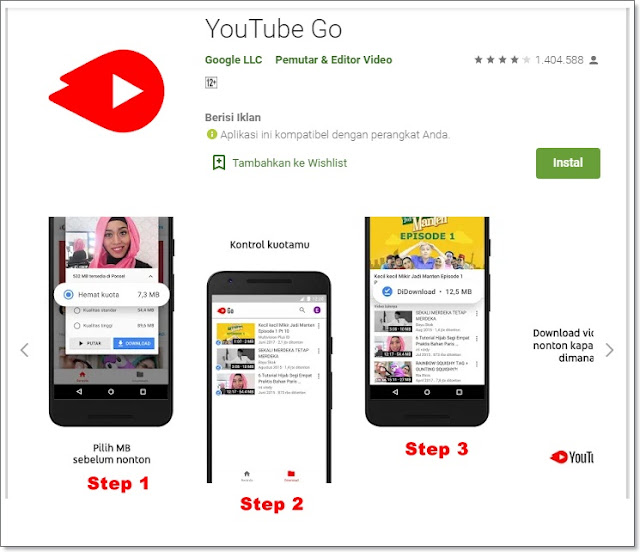 Aplikasi download video youtube diponsel android