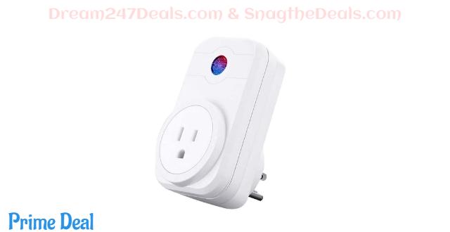 60%OFF SIPAILING mini Wifi smart plugs alexa wifi outlets