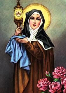 Oração de Santa Clara de Assis