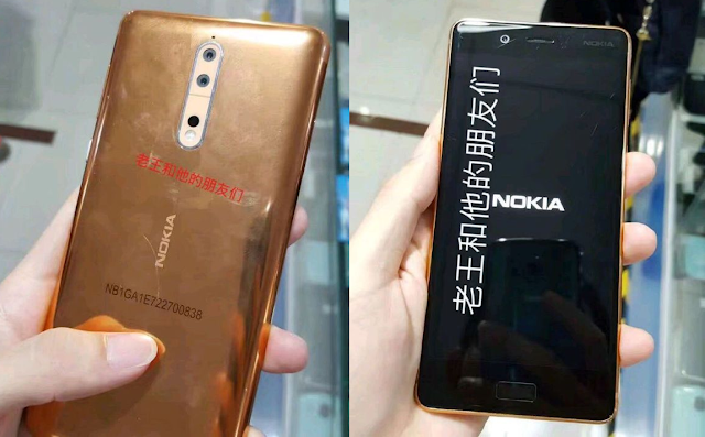 Nokia 8 hands-on photo leaked, confirms the actual design
