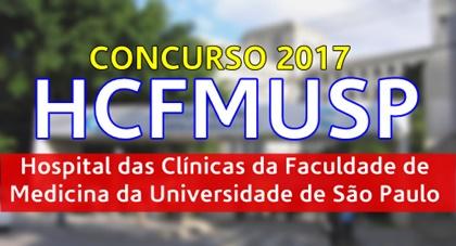 Concurso Hospital das Clínicas de São Paulo HC SP 2017