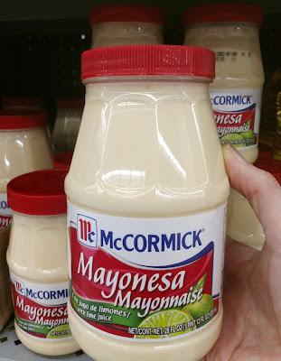 Mayonesa con lima