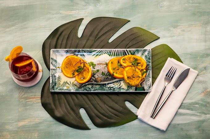 Dorada con Naranja e Hinojo