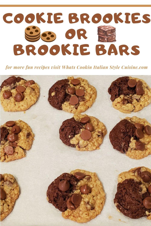 Cookie Brookies or Brookie Bars