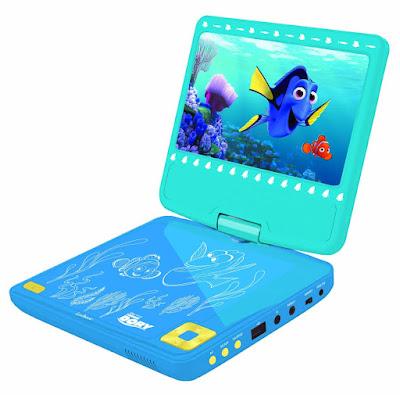 TOYS : JUGUETES - DISNEY Buscando a Dory Reproductor de DVD portátil | Lexibook DVDP6DO PELICULA 2016 | A partir de 6 años Comprar en Amazon España