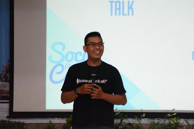 CEO BAWABERKAH.ORG Ajak Pemuda Indonesia Berinovasi