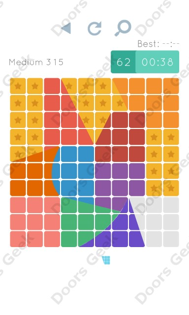 Cheats, Walkthrough for Blocks and Shapes Medium Level 315