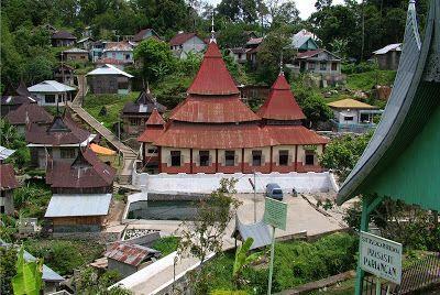 Masjid Ishlah di desa pariangan