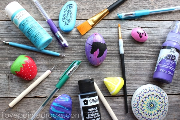Best rock painting supplies and painted rock ideas