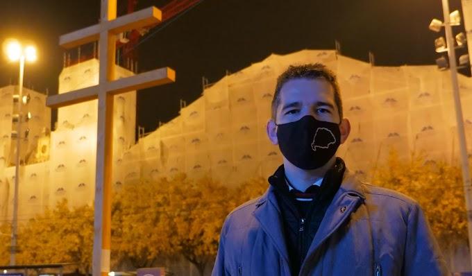 Novák Előd: Ismét felállítottuk keresztünket a budapesti Nyugati téren!