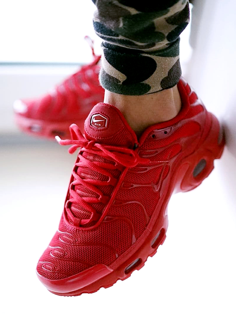 45efb884aa31 ... Shoe modification made to Fuse the material will be emphasized in the Nike  Air Max Plus original breathability are still preserved