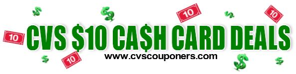 cvs couponers cash card deals