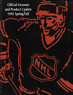 NHL Official Licensee and Product Update 1993 Spring/Fall - 1