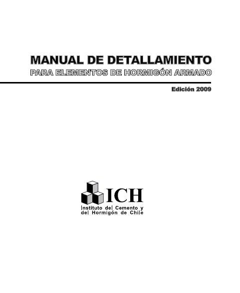 Material de apoyo para Ingeniería Estructural: Concreto Armado