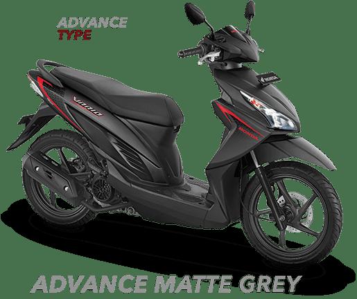 New Vario 110 ESP CBS ISS Advance Matte Grey 2017 Nagamas Motor Klaten