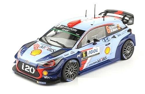 WRC collection 1:24 salvat españa, Hyundai i20 WRC 1:24  Dani Sordo, Córcega 2017